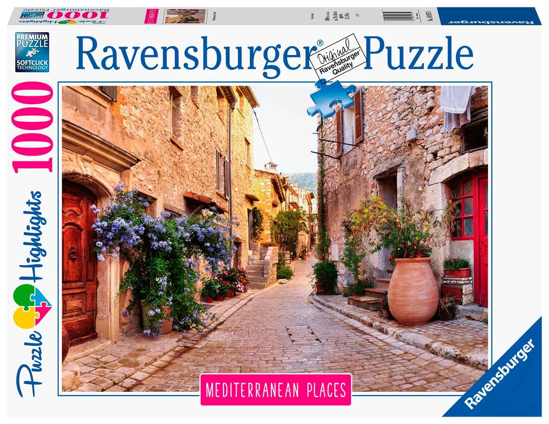 Puzzle Ravensburger Francia Mediterránea de 1000 Piezas
