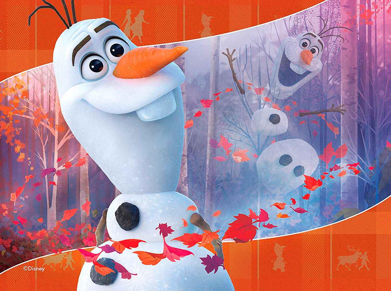 Puzzle Ravensburger Frozen 2 Progresivo de 12+16+20+24 Pzs