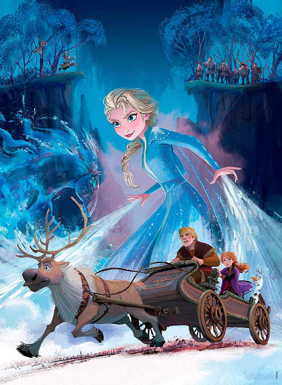 Puzzle Ravensburger Frozen 2 XXL de 200 Piezas