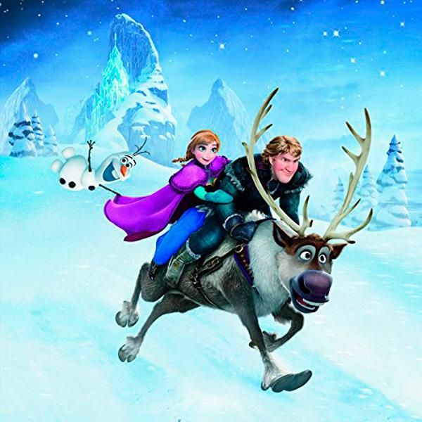 Puzzle Ravensburger Frozen Aventuras en el Reino Helado 3x49 Pie