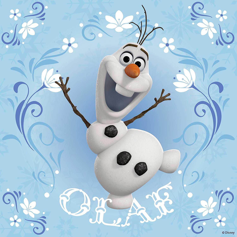 Puzzle Ravensburger Frozen Elsa, Anna y Olaf 3x49 Pie