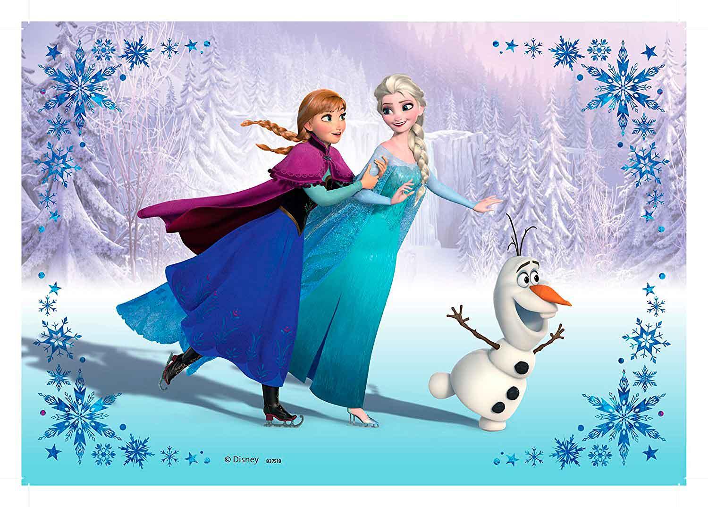 Puzzle Ravensburger Frozen Hermanas Para Siempre 2x24 Piezas