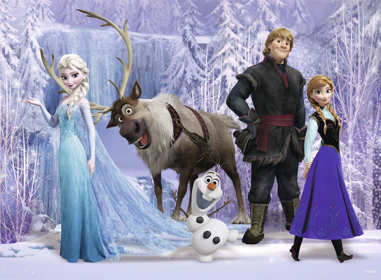 Puzzle Ravensburger Frozen, La Reina de las Nieves 100 Piezas de