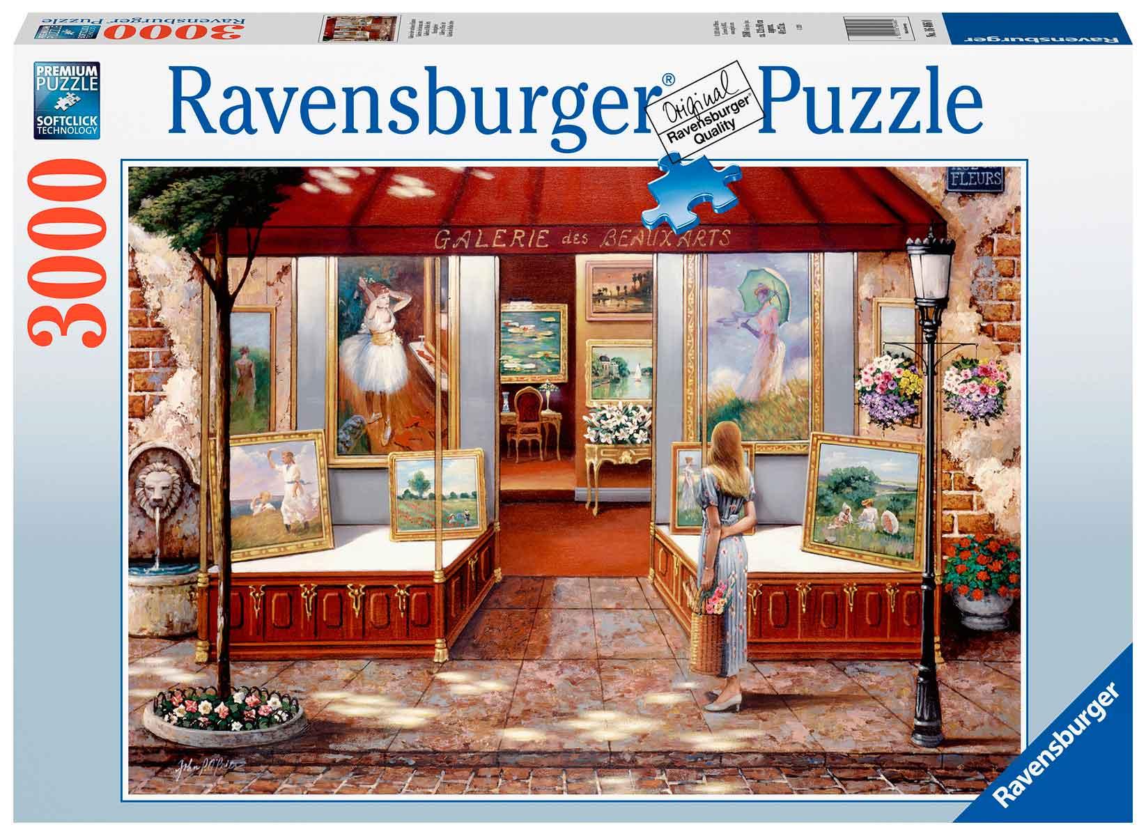 Puzzle Ravensburger Galería de Bellas Artes de 3000 Piezas