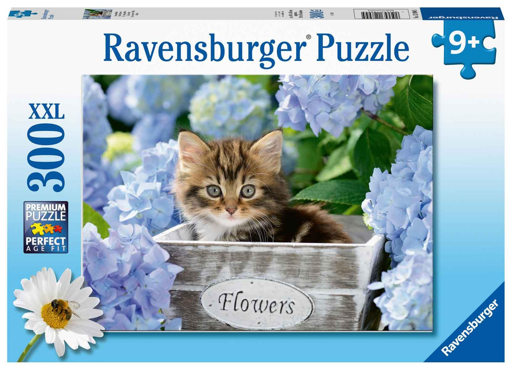 Puzzle Ravensburger Gatito de 300 Piezas XXL