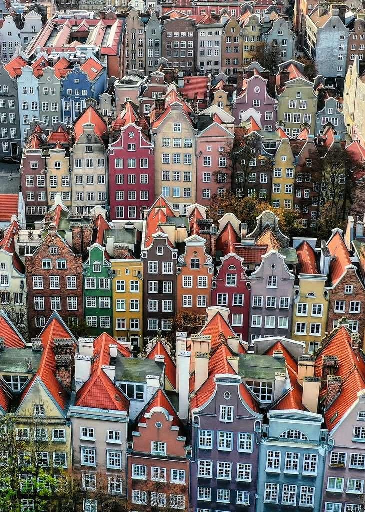 Puzzle Ravensburger Gdansk Polonia de 1000 Piezas