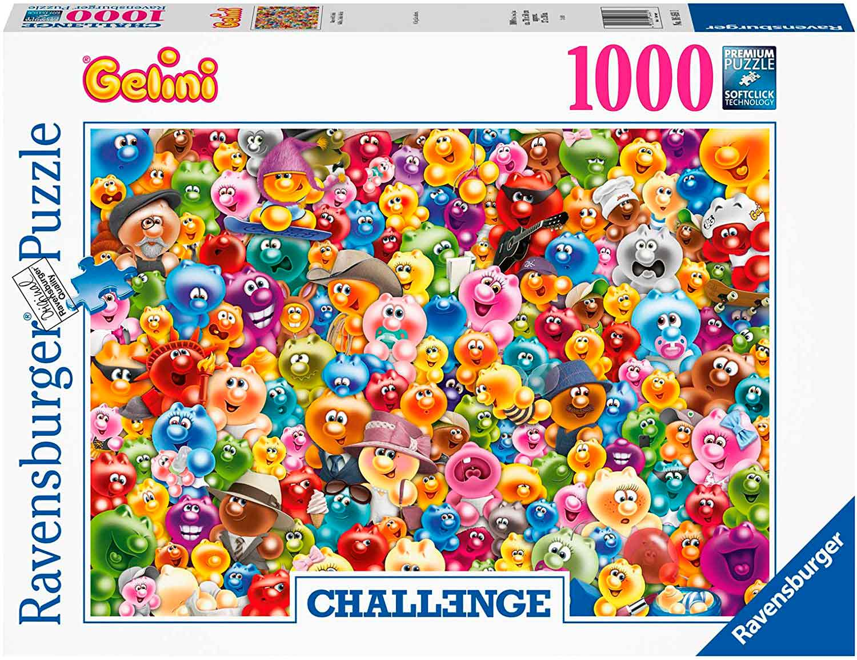 Puzzle Ravensburger Gelini Challenge 1000 Piezas