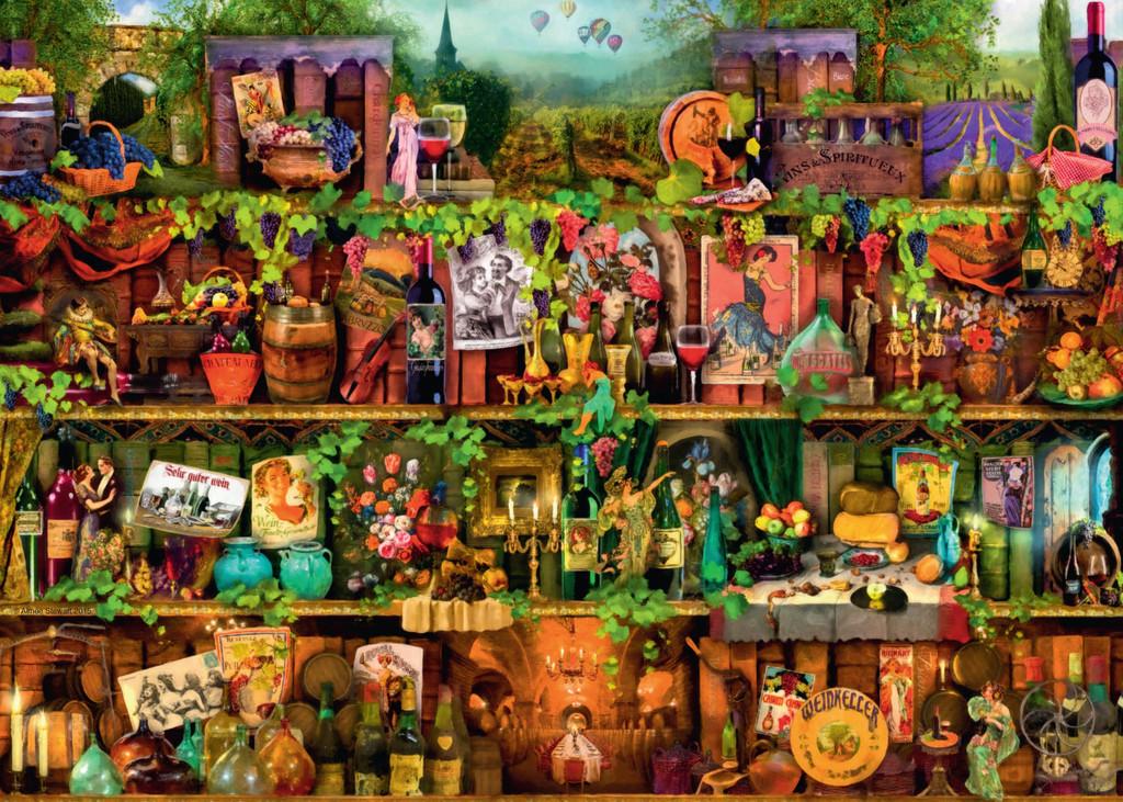 Puzzle Ravensburger Glorious Vintage de 1000 Piezas