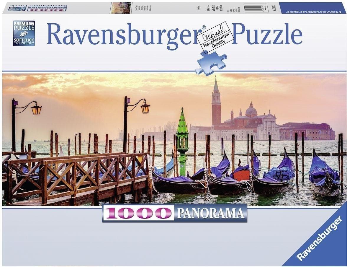 Puzzle Ravensburger Góndolas en Venecia de 1000 Piezas