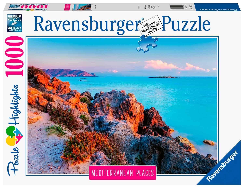 Puzzle Ravensburger Grecia Mediterránea de 1000 Piezas