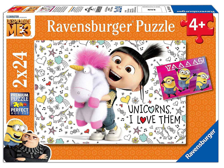 Puzzle Ravensburger Gru, Mi Villano Favorito 2x24 Piezas