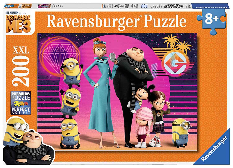 Puzzle Ravensburger Gru, mi Villano Favorito 3 XXL de 200 Pzs