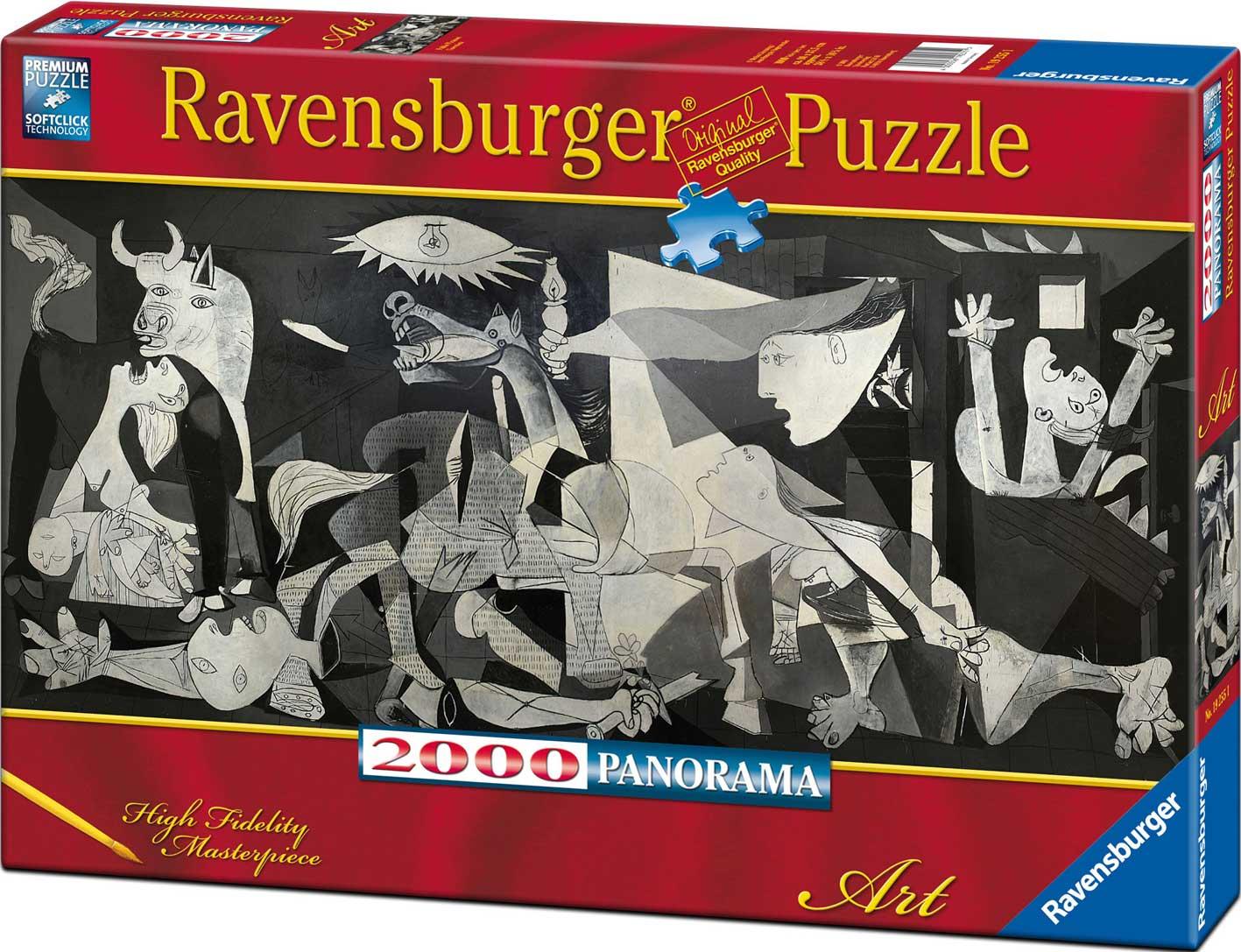 Puzzle Ravensburger Guernica de 2000 Piezas