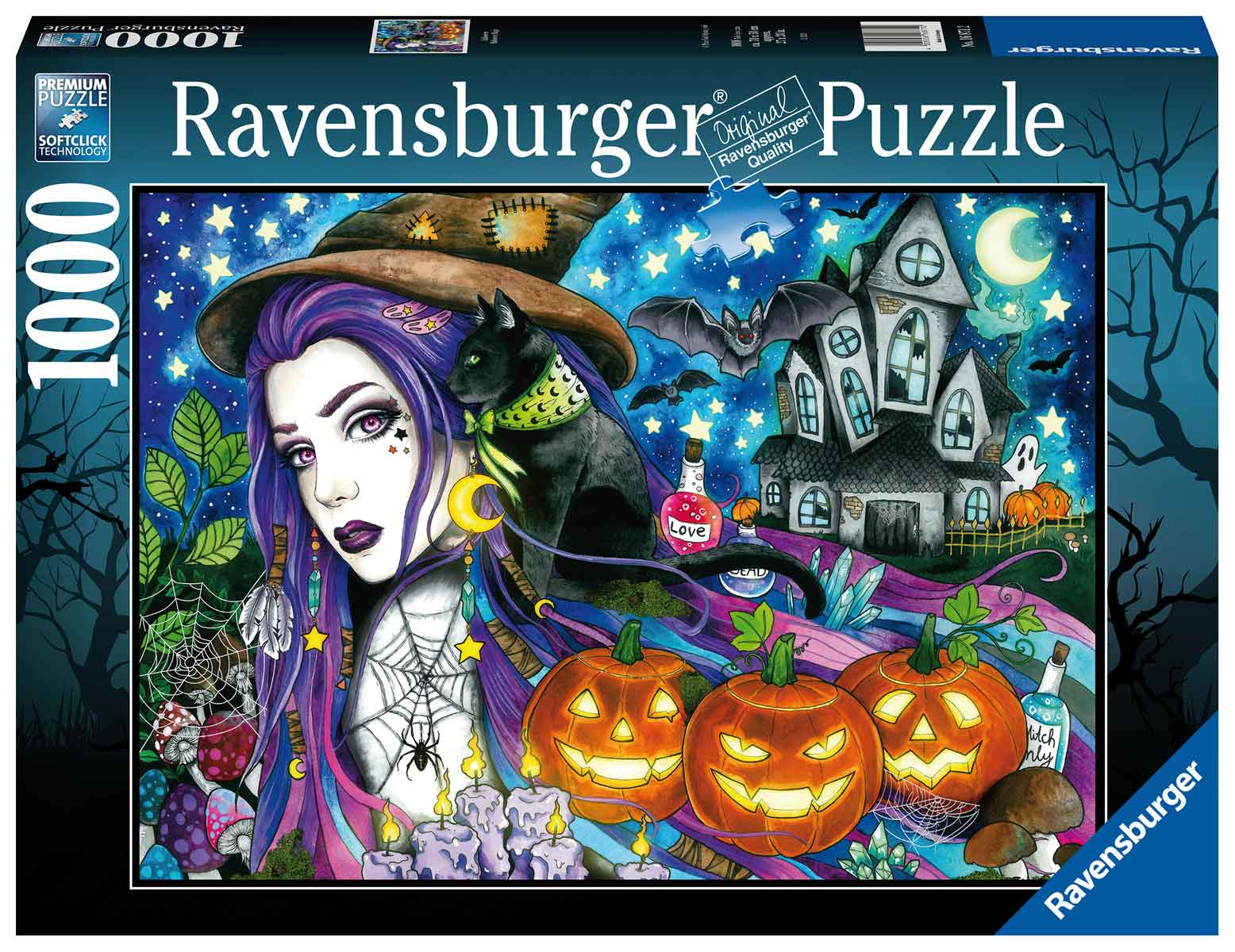 Puzzle Ravensburger Halloween de 1000 Piezas