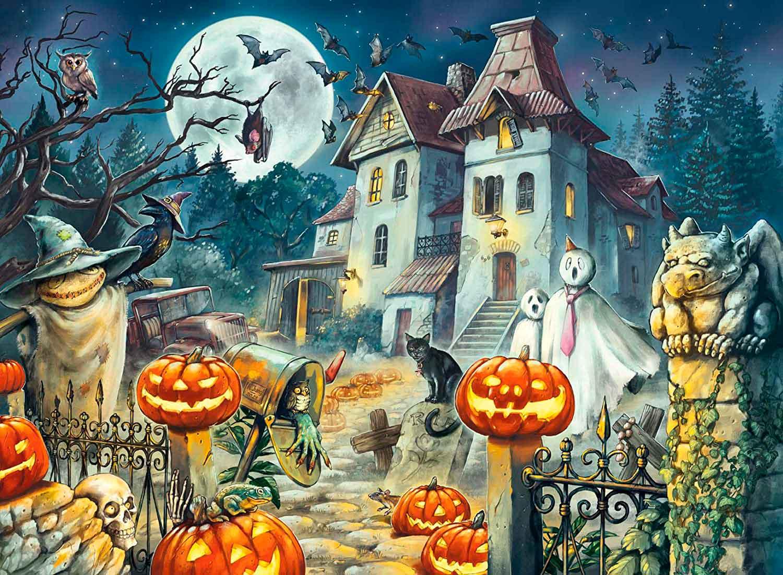 Puzzle Ravensburger Halloween XXL 300 Piezas