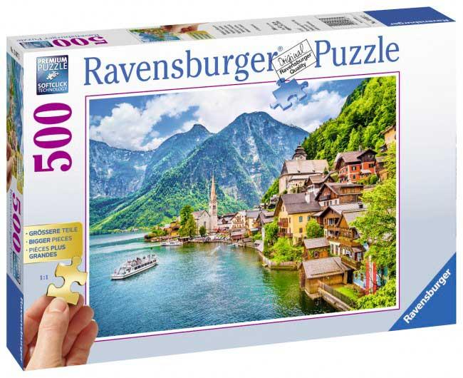 Puzzle Ravensburger Hallstatt, Austria de 500 Piezas