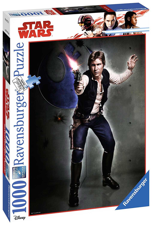 Puzzle Ravensburger Han Solo, Star Wars 1000 Piezas