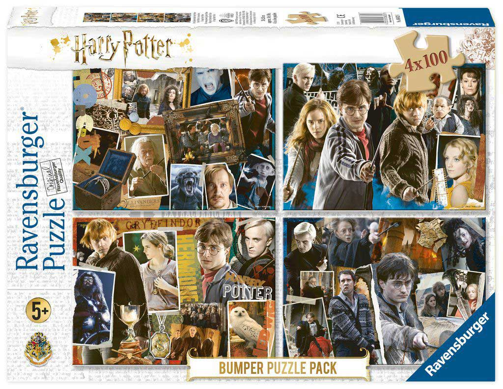 Puzzle Ravensburger Harry Potter 4 x 100 Piezas