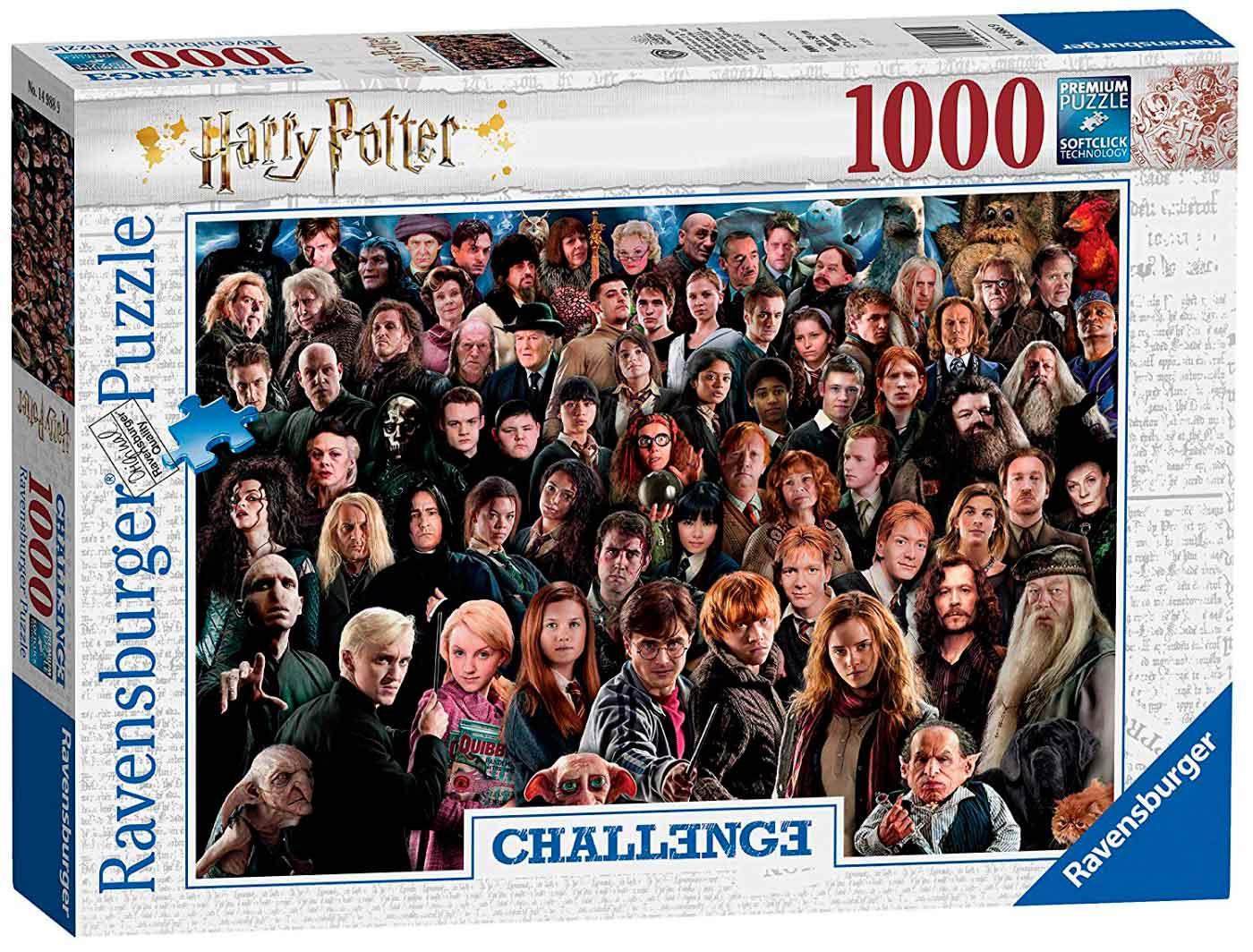 Puzzle Ravensburger Harry Potter Challenge de 1000 Piezas