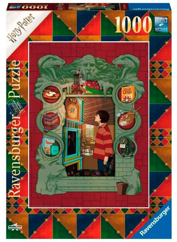 Puzzle Ravensburger Harry Potter con La Familia Weasly de 1000 P
