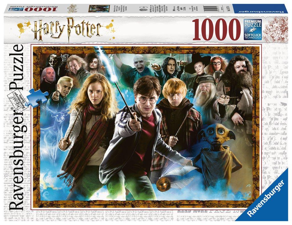 Puzzle Ravensburger Harry Potter de 1000 Piezas
