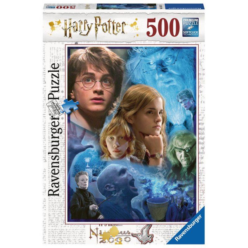 Puzzle Ravensburger Harry Potter en Hogwartsde 500 Piezas