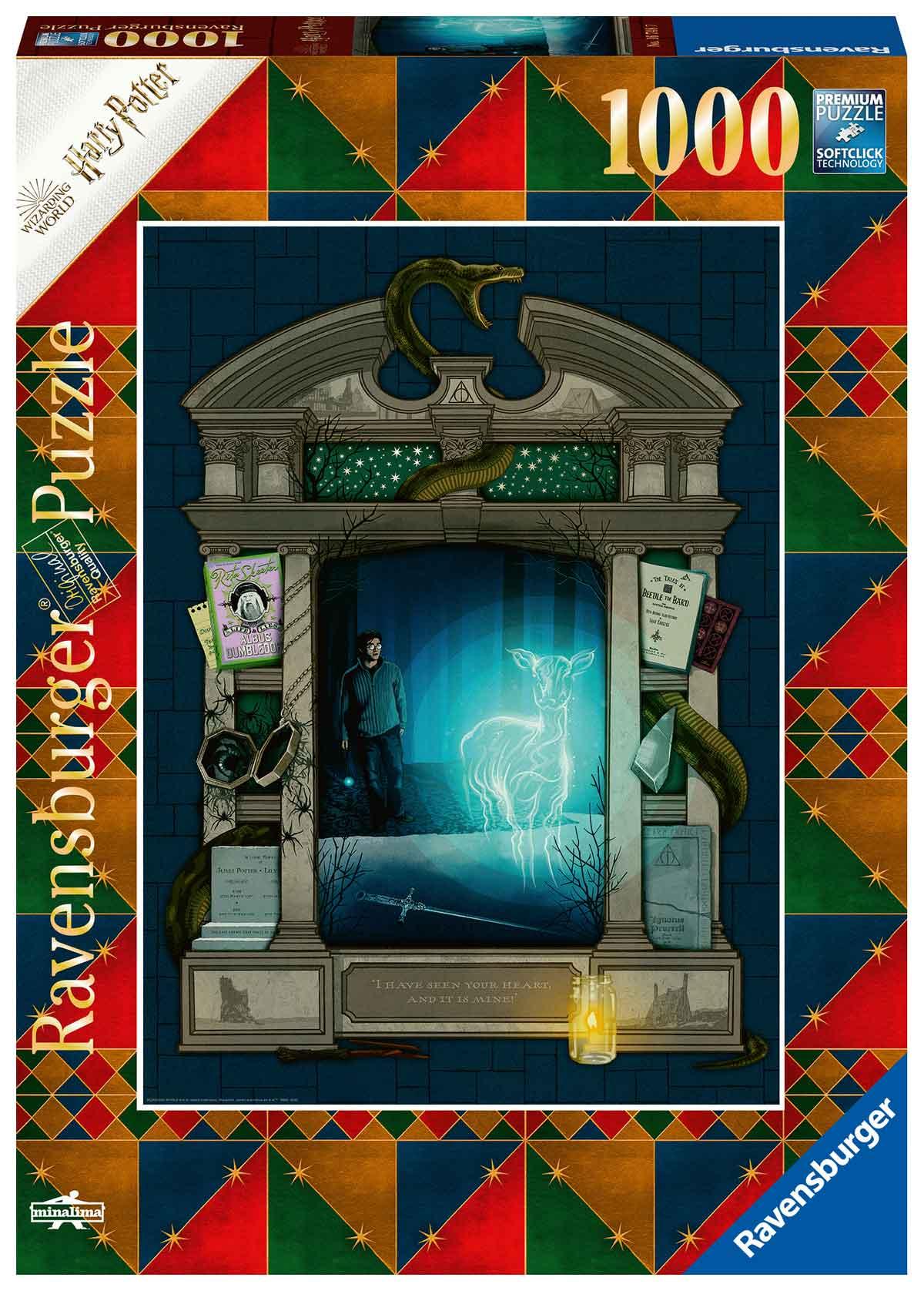 Puzzle Ravensburger Harry Potter Expecto Patronum de 1000 Piezas
