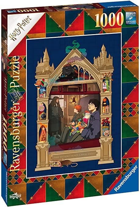 Puzzle Ravensburger Harry Potter Expreso a Hogwards de 1000 P