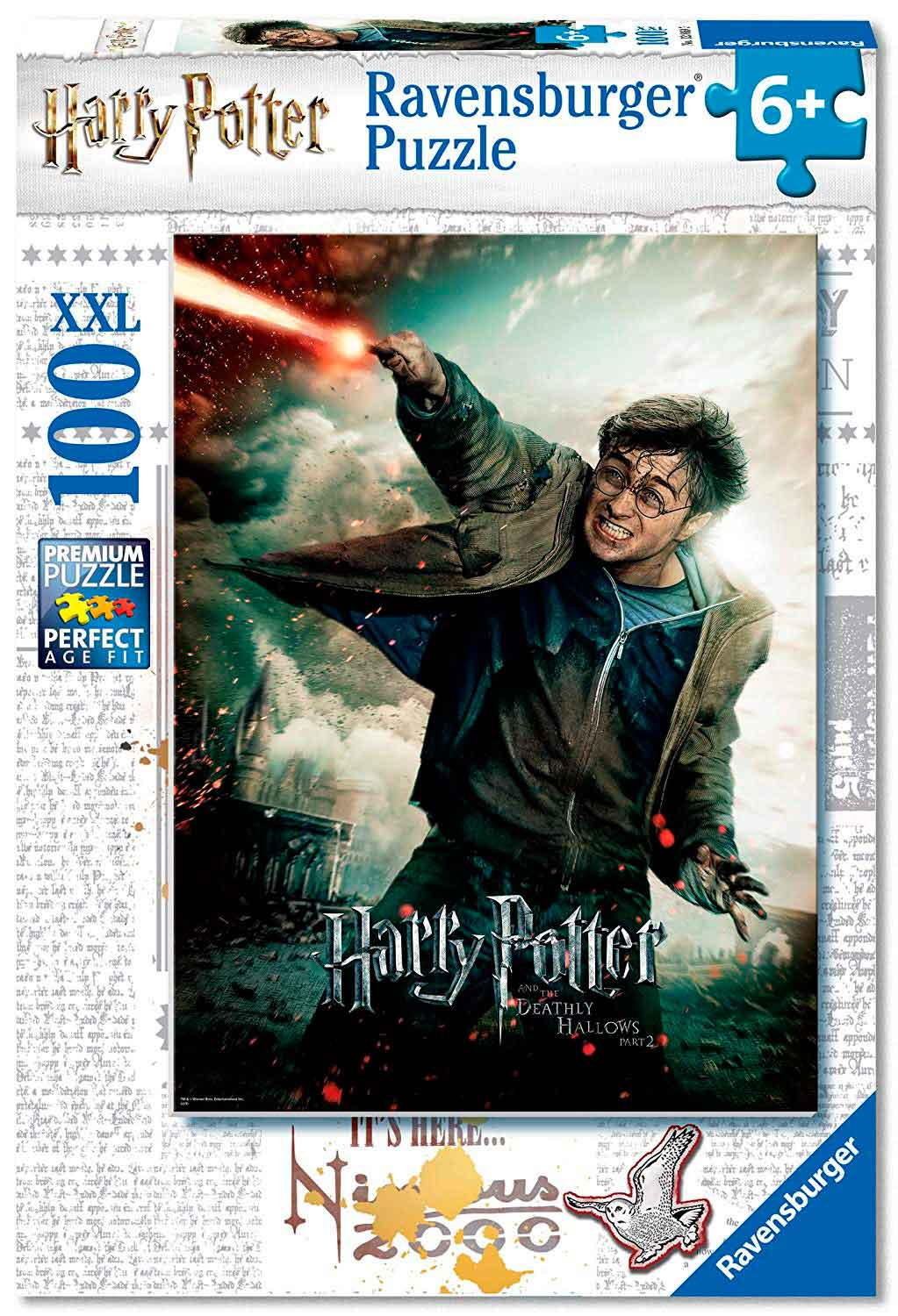 Puzzle Ravensburger Harry Potter XXL de 100 Piezas