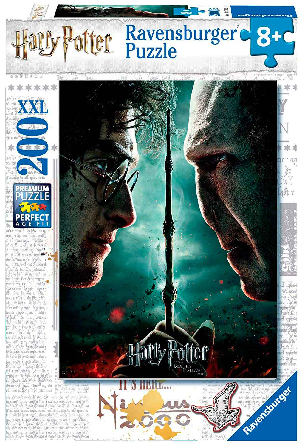 Puzzle Ravensburger Harry Potter XXL de 200 Piezas