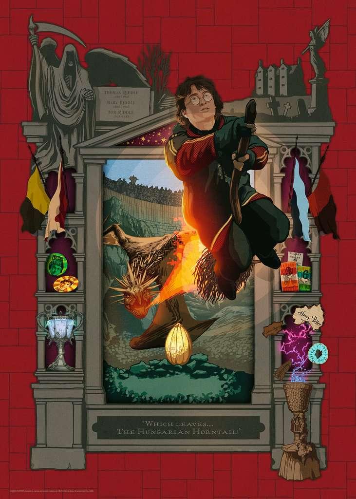 Puzzle Ravensburger Harry Potter y el Cáliz de Fuego de 1000 Pzs
