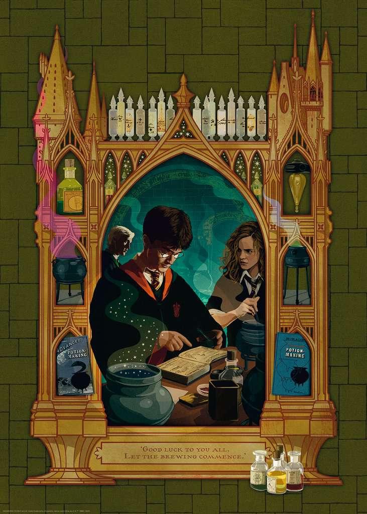 Puzzle Ravensburger Harry Potter y El Príncipe Mestizo 1000 Piez
