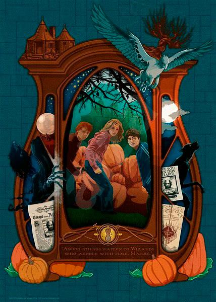 Puzzle Ravensburger Harry Potter y el Secreto de Azkaban de 1000