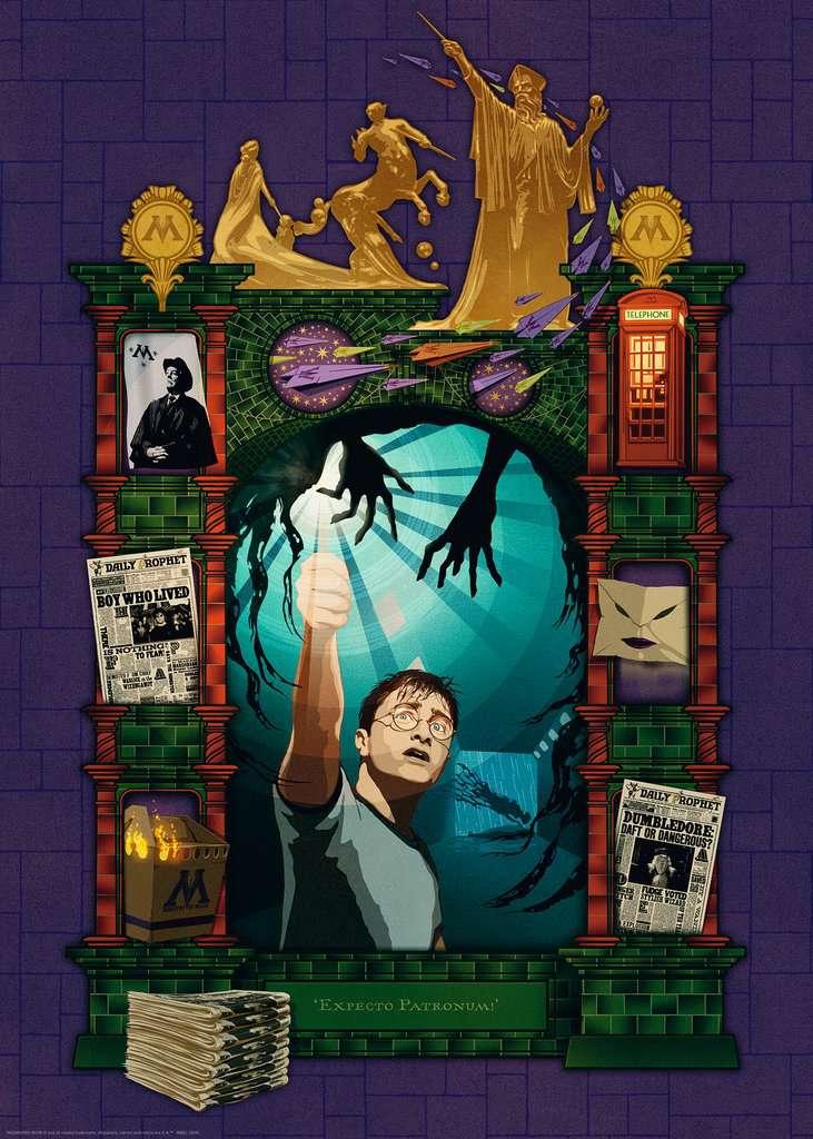 Puzzle Ravensburger Harry Potter y La Orden del Fénix 1000 Pieza