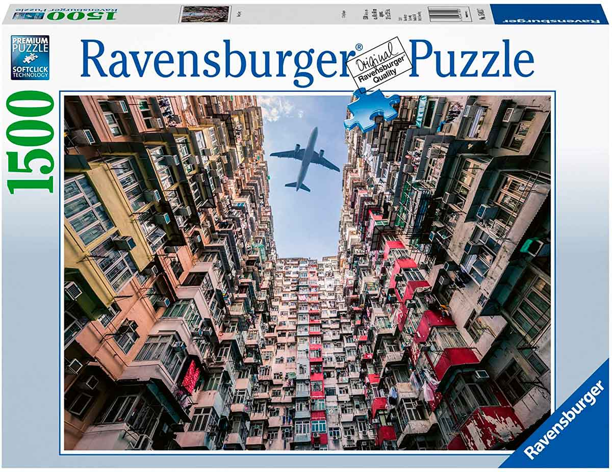 Puzzle Ravensburger Hong Kong de 1000 Piezas