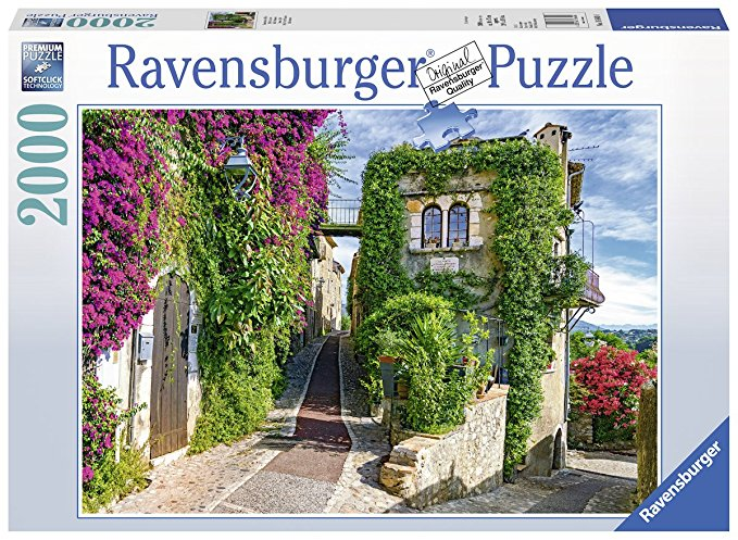 Puzzle Ravensburger Idilio Francés de 2000 Piezas