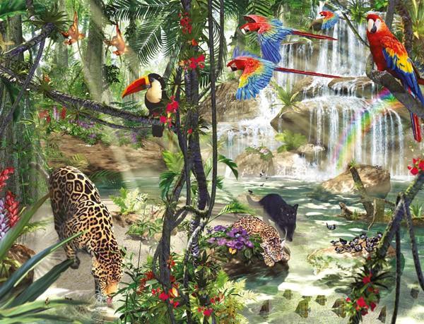 Puzzle Ravensburger Impresiones de la Selva de 2000 Piezas