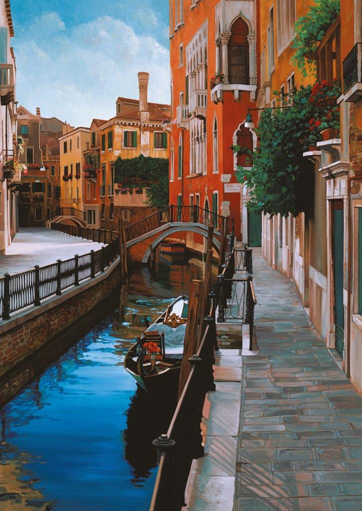 Puzzle Ravensburger Impresiones Venecianas de 1000 Piezas