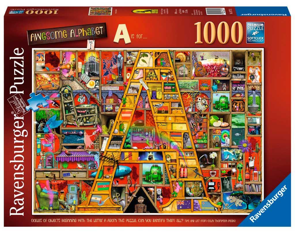 Puzzle Ravensburger Increíble Alfabeto