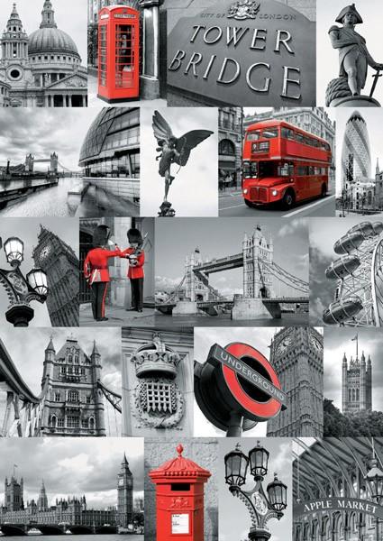 Puzzle Ravensburger Instantáneas de Londres de 1000 Piezas