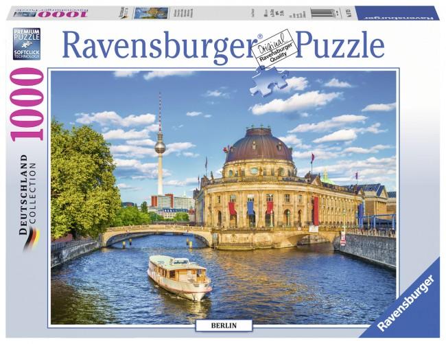 Puzzle Ravensburger Isla de los Museos de Berlín de 1000 Piezas