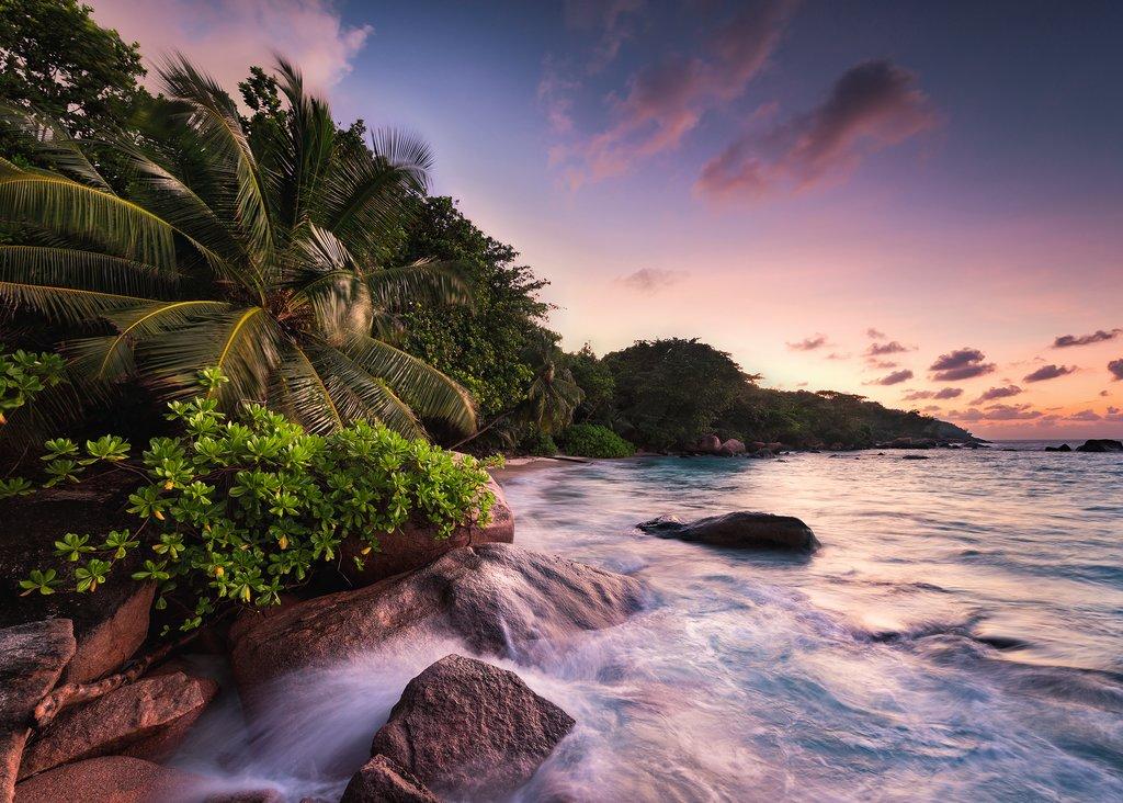 Puzzle Ravensburger Isla de Praslin en Seychelles de 1000 Piezas