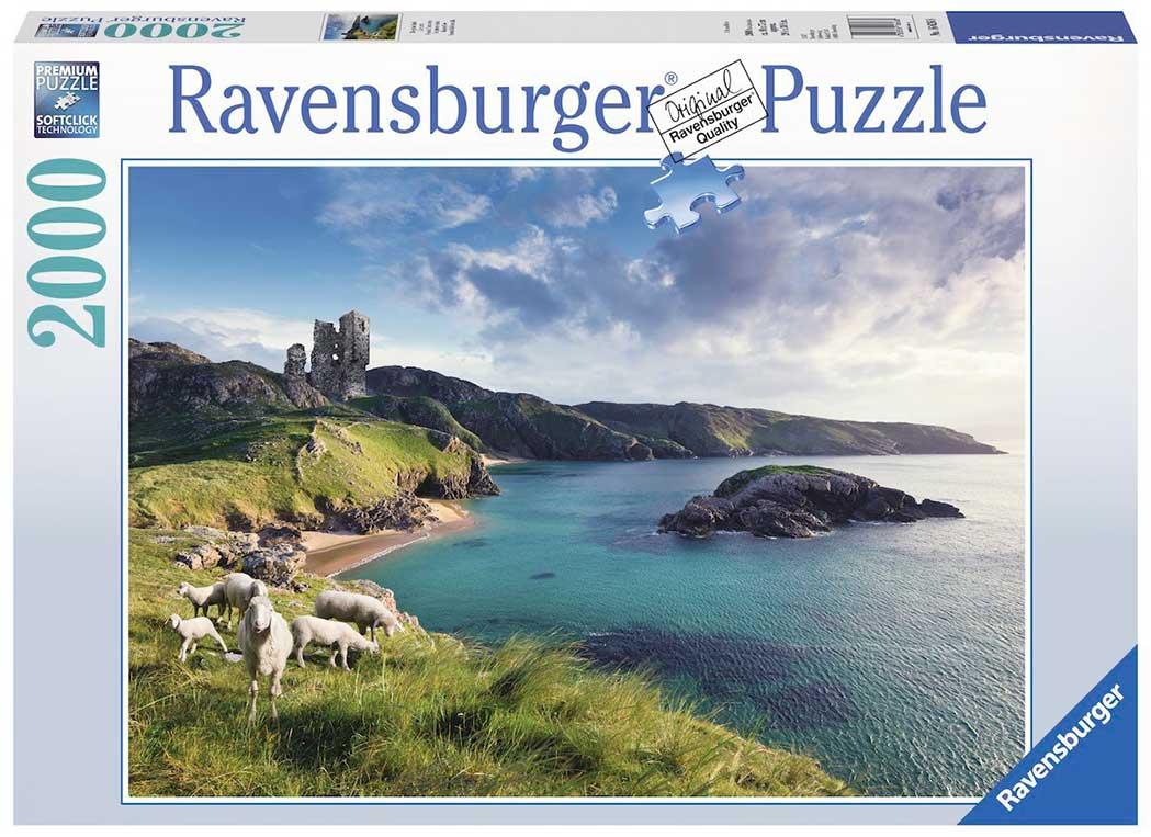 Puzzle Ravensburger Isla Esmeralda, Irlanda de 2000 Piezas
