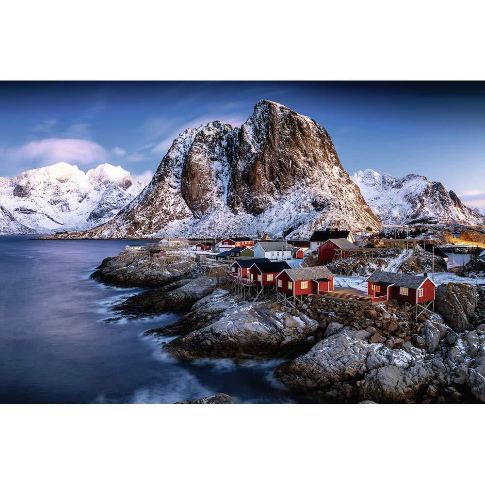 Puzzle Ravensburger Islas Lofoten, Noruega de 3000 Piezas
