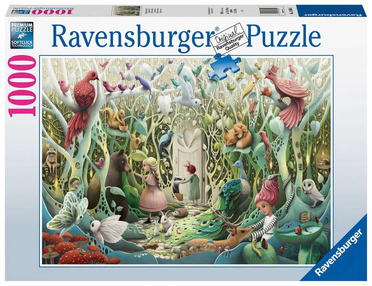 Puzzle Ravensburger Jardín Secreto de 1000 Piezas