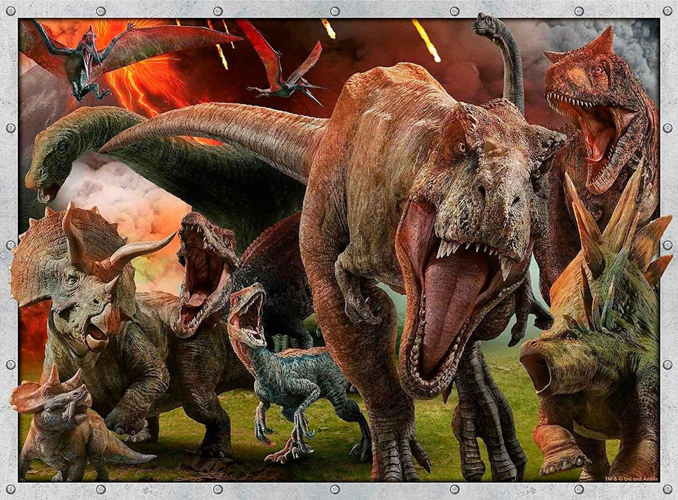 Puzzle Ravensburger Jurassic World XXL de 100 Piezas