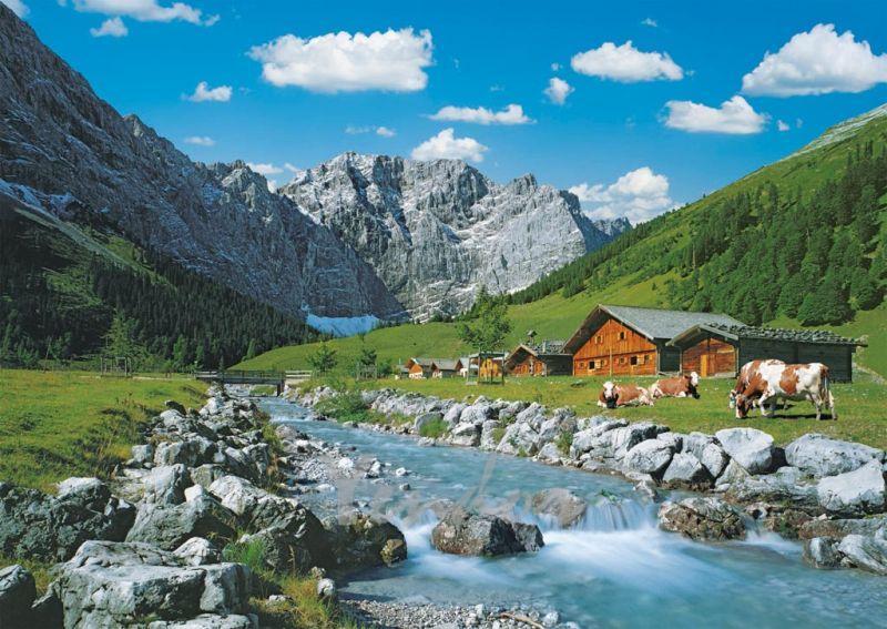 Puzzle Ravensburger Karwendel, Austria de 1000 Piezas