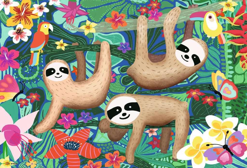 Puzzle Ravensburger Koalas y Perezosos de 2x24 Piezas