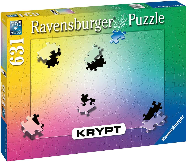 Puzzle Ravensburger Krypt Gradiente de 631 Piezas