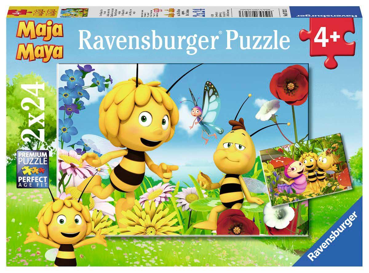 Puzzle Ravensburger La Abeja Maya de 2 x 24 Piezas